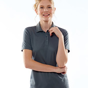 UltraClub Ladies' Cool & Dry Mesh Piqué Polo