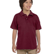 Youth 6 oz. Ringspun Cotton Piqué Short-Sleeve Polo