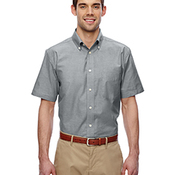 Men's Short-Sleeve Oxford with Stain-Release