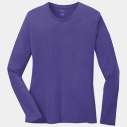 Ladies 5.4oz Long Sleeve T-Shirt Thumbnail