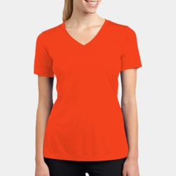 Ladies Racermesh V-Neck T-Shirt Thumbnail